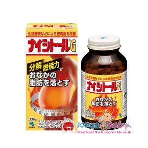 Thuốc giảm béo bụng, mông, đùi Naishitoru G