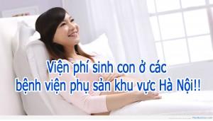 Viện phí các bệnh viện phụ sản khu vực Hà Nội!!