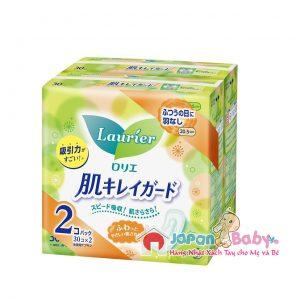 Băng vệ sinh Laurier Nhật không cánh 30 miếng