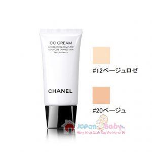 Kem nền Chanel CC Cream nội địa Nhật 30ml