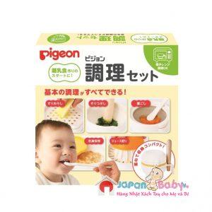 SET CHẾ BIẾN ĂN DẶM PIGEON (8 món)