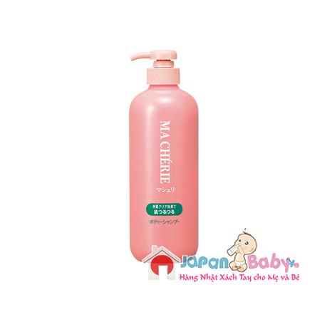 sua-tam-shiseido-marcherie-600ml-nhat-ban-0