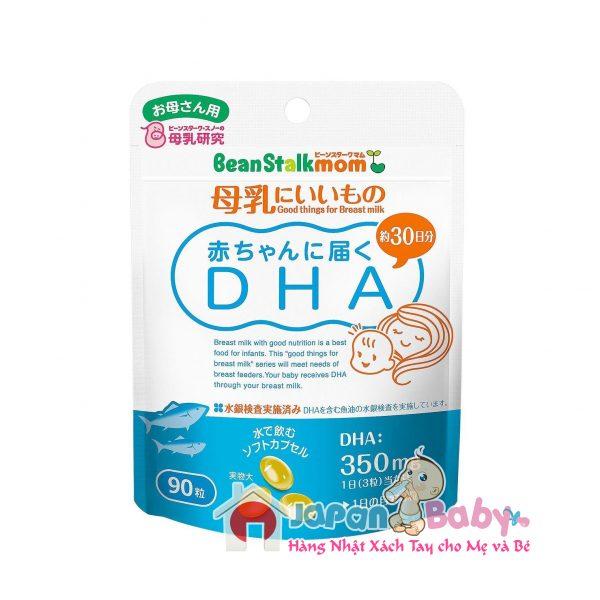 Viên lợi sữa Beanstalk Mom + DHA, Ca