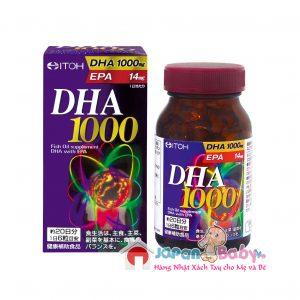 VIÊN BỔ NÃO DHA&EPA 1000 ITOH 120 viên