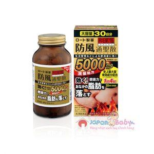 Thuốc giảm mỡ bụng Rohto 5000mg của Nhật 360 viên