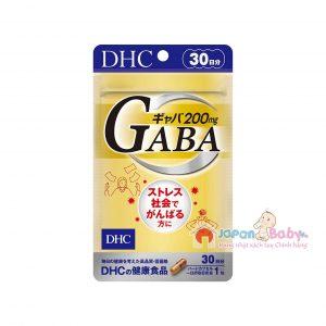 Viên uống giảm stress DHC Gaba 30 ngày Nhật bản