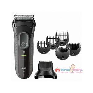 Máy cạo râu đa năng Braun Series 3 3000s-BT | JapanBaby.vn